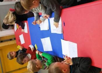 Открытый урок в младшей группе от 3-х до 4-х лет (ноябрь, 2013 года, Бланчардстаун)